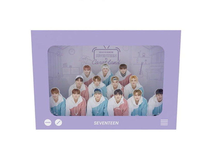 Official SEVENTEEN - Photo Wall Pop-Up Stand - 4th Fan Meeting