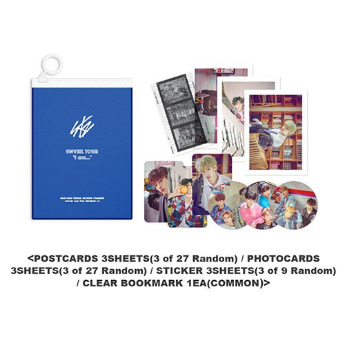 Stray Kids 2019 Unveil Tour Official Goods - Random Pocket