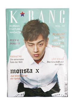 K-BANG Vol. 10 - Nr. 02/2017 - Shownu Edition (Standard)
