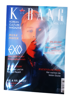 K-BANG Vol. 11 - Nr. 01/2018 - EXO Edition (Variant)