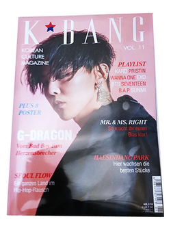 K-BANG Vol. 11 - Nr. 01/2018 - G-Dragon Edition (Variant)