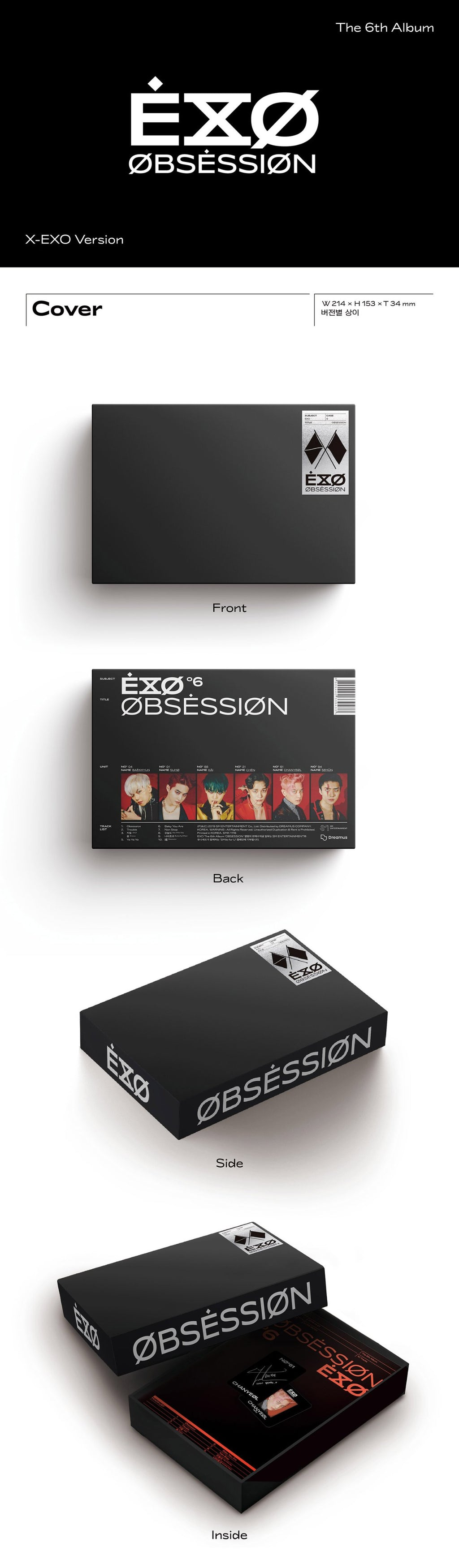 EXO - Obsession - Vol.6 - J-Store Online