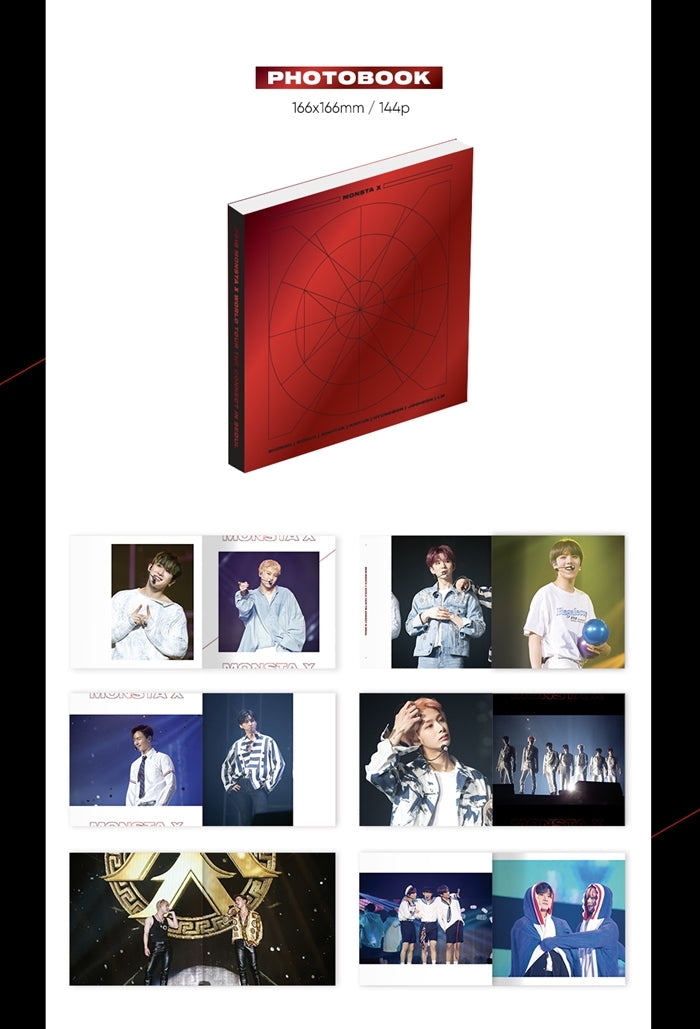 MONSTA X – 2018 MONSTA X World Tour The Connect in Seoul (3 Dvds) - jetzt lieferbar
