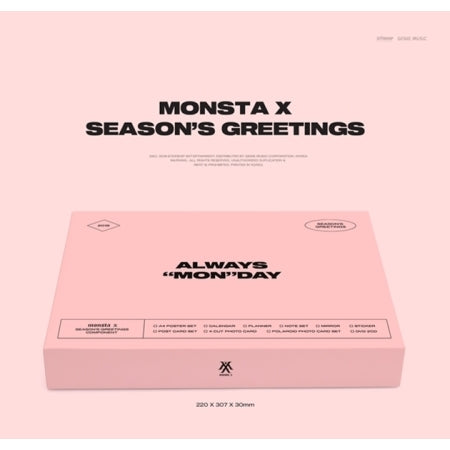 Monsta-X - 2019 Season's Greetings - Pre-Order