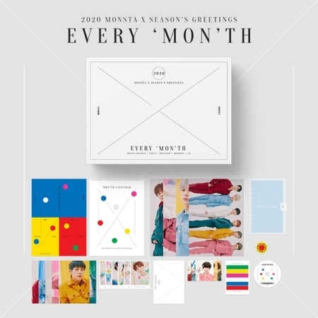 Monsta-X - 2020 Season's Greetings - Pre-Order