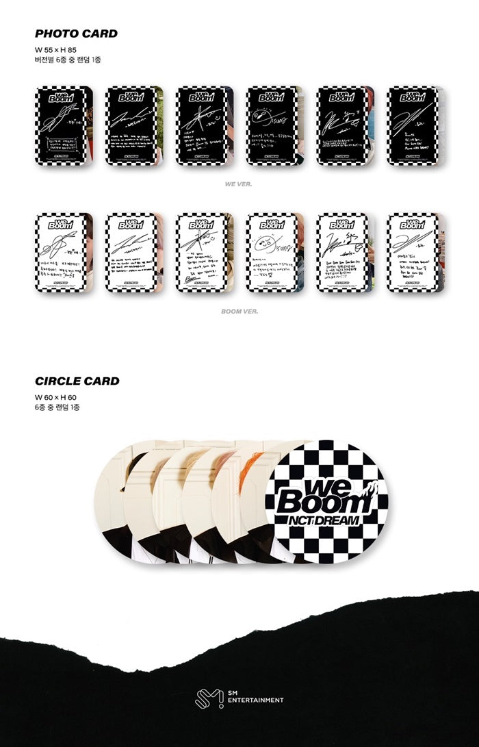 NCT Dream - We Boom - J-Store Online