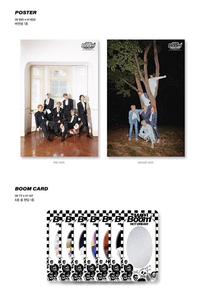 NCT Dream - We Boom - neue Auflage - J-Store Online