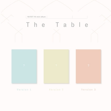 Nu'est - The Table - jetzt lieferbar!