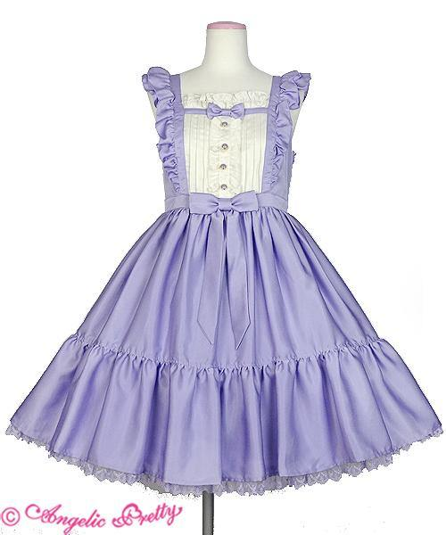 ANGELIC PRETTY - Silky Lady JSK