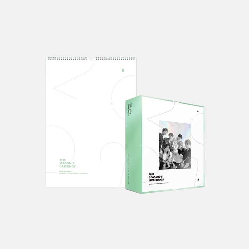 BTS 2020 Season's Greetings + Wall Calendar (Limited Edition) - J-Store Online