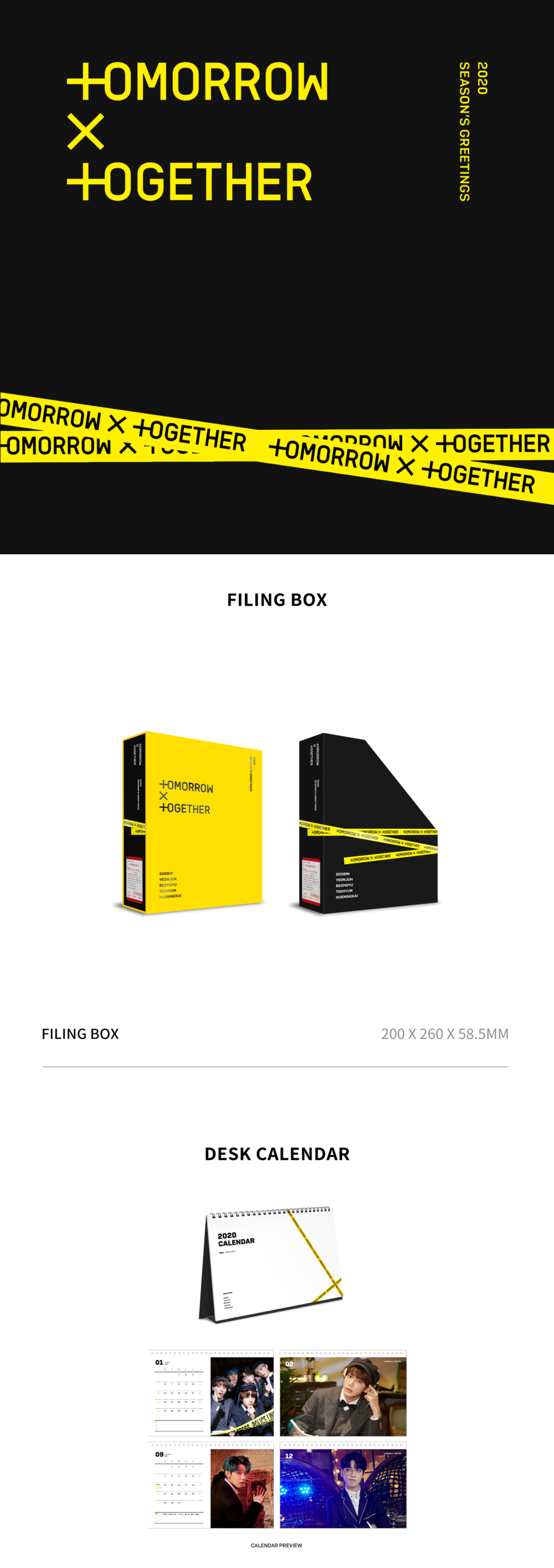 TXT 2020 Season's Greetings - Pre-Order