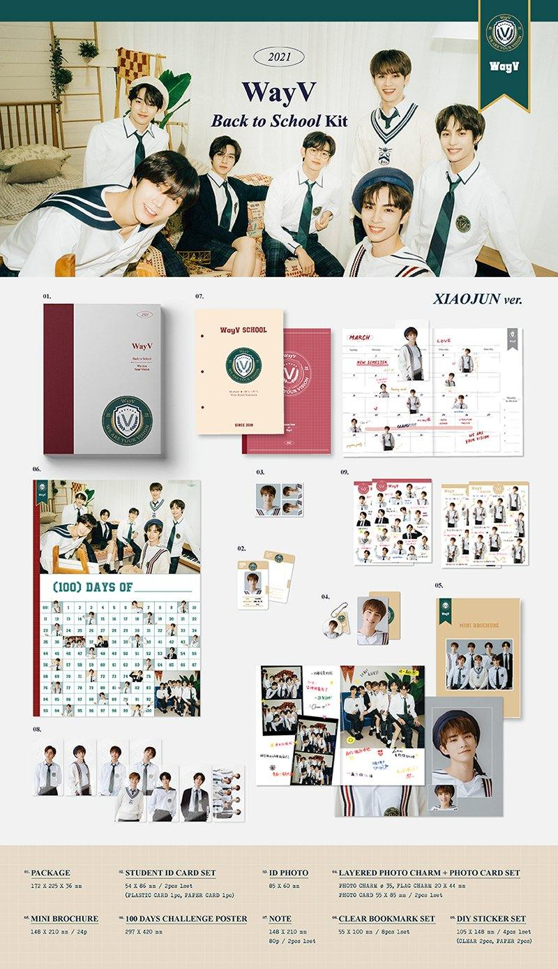 WAYV - 2021 WAYV Back To School Kit - Pre-Order