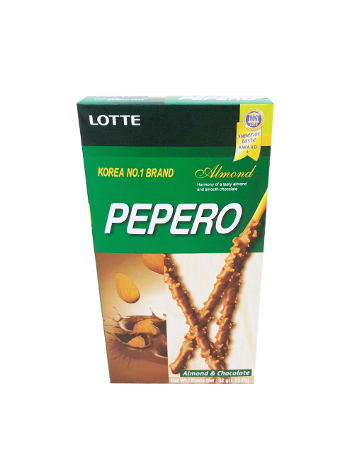 Pepero Almond - J-Store Online