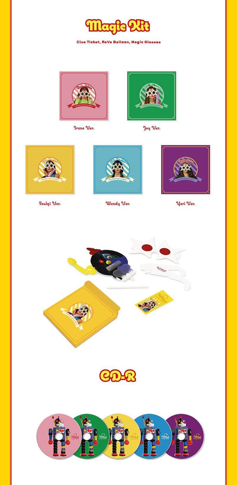 Red Velvet - The ReVe Festival - Day1 Version - J-Store Online