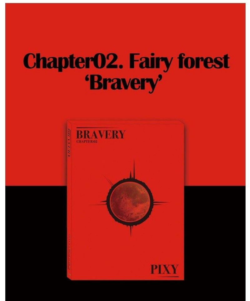 PIXY - Chapter 2. Fairy Forest `BRAVERY` - Pre-Order