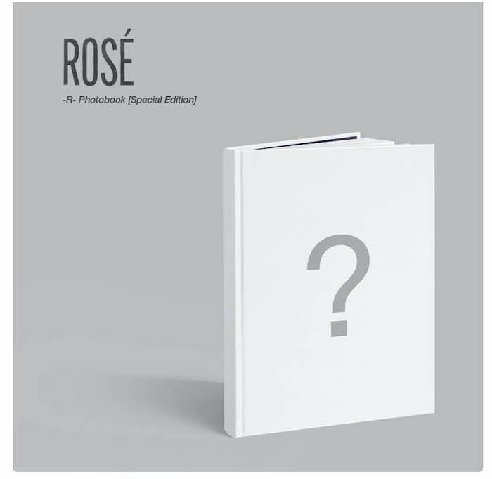 Rose - R - Photobook (Special Edition) - Pre-Order