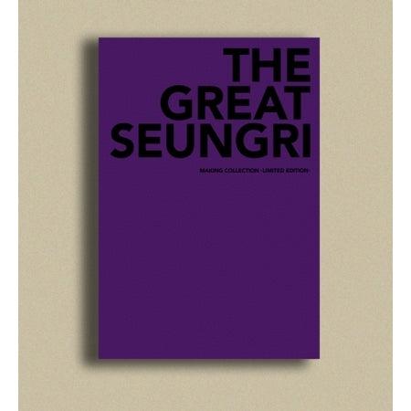 Seungri - First Solo Album : The Great Seungri - Making Collection (Limited Collection) - jetzt erhältlich