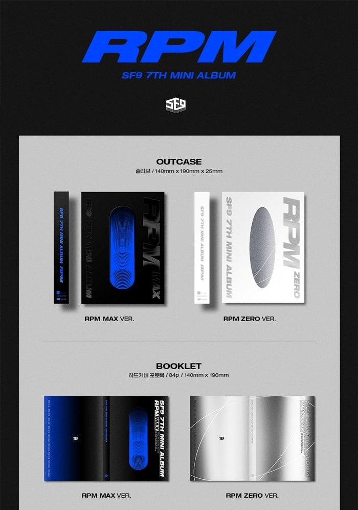SF9 - RPM - J-Store Online