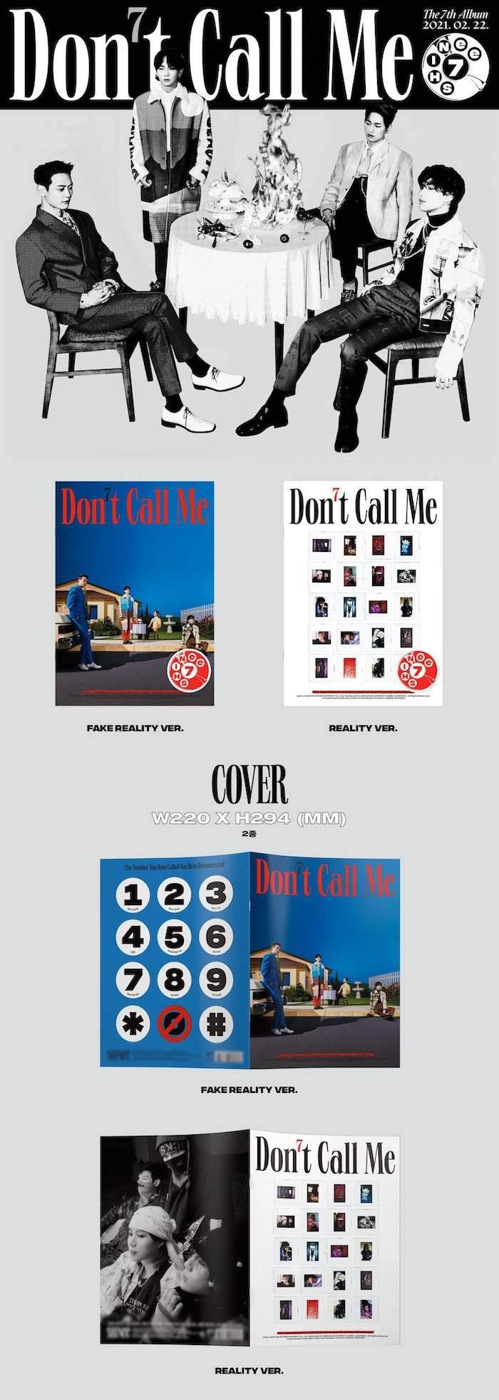 SHINEE - VOL.7 DON'T CALL ME (PHOTOBOOK VER.) - J-Store Online
