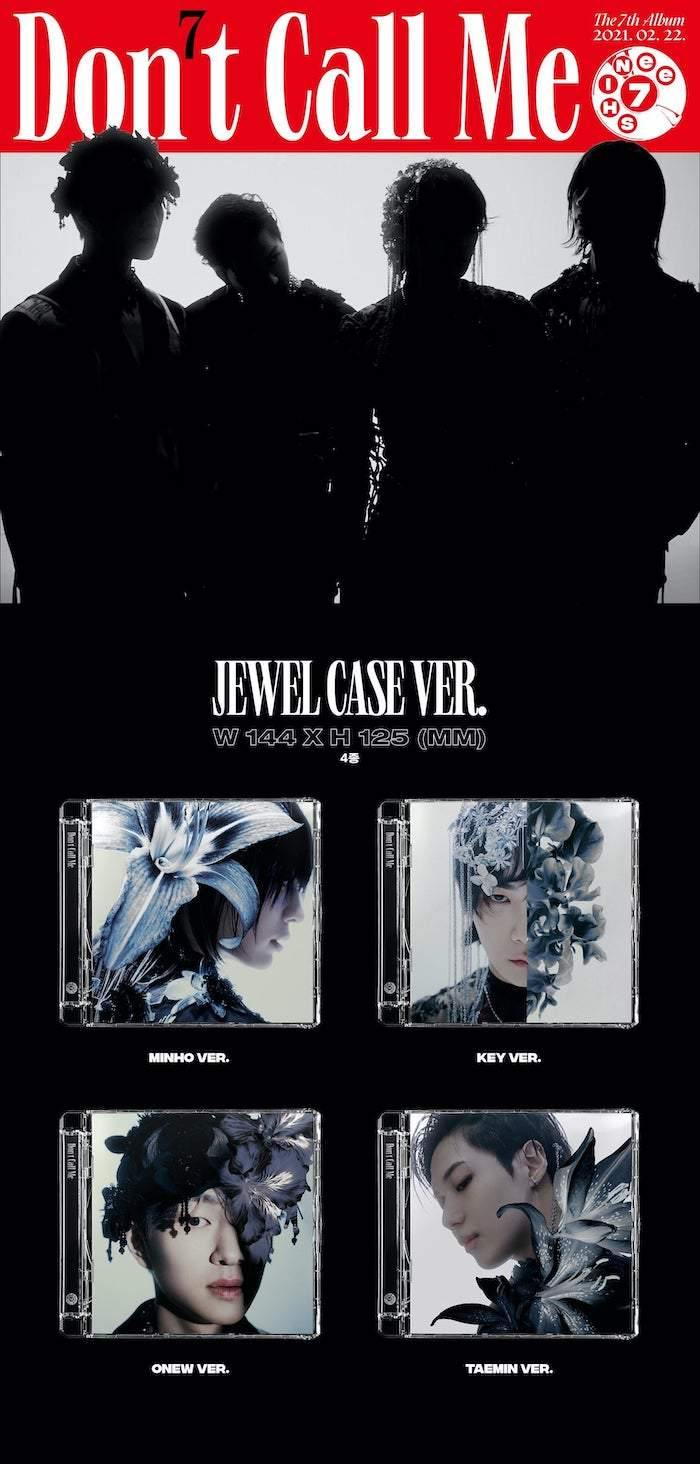 SHINEE - VOL.7 DON'T CALL ME (Jewel Case Version)