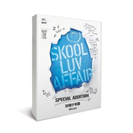 BTS - Skool Luv Affair (Special Addition) CD + 2DVDs