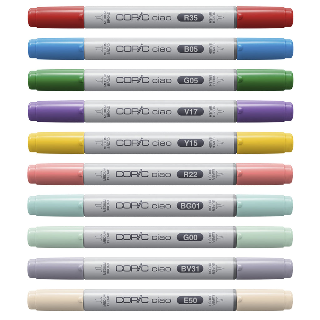 Copic Ciao - Sparkle Set - 12 Stifte Set