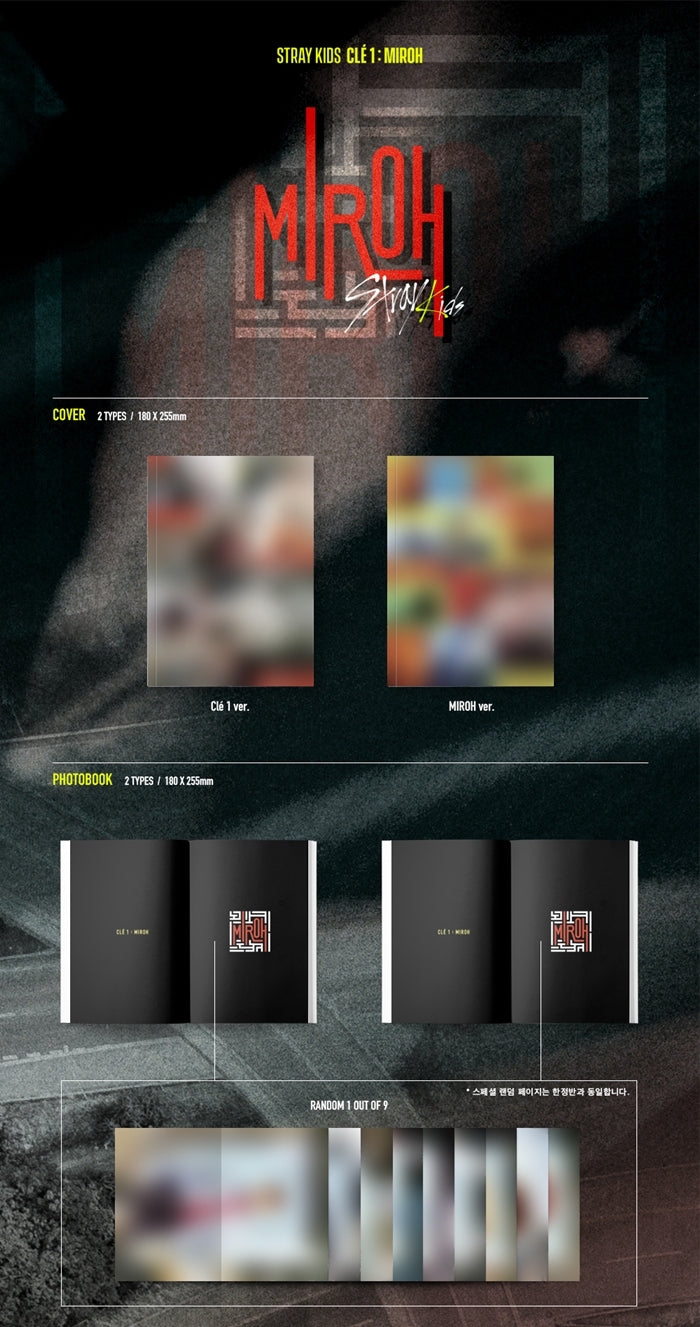 Stray Kids - CLE1 : Miroh (Normal Edition) - Pre-Order