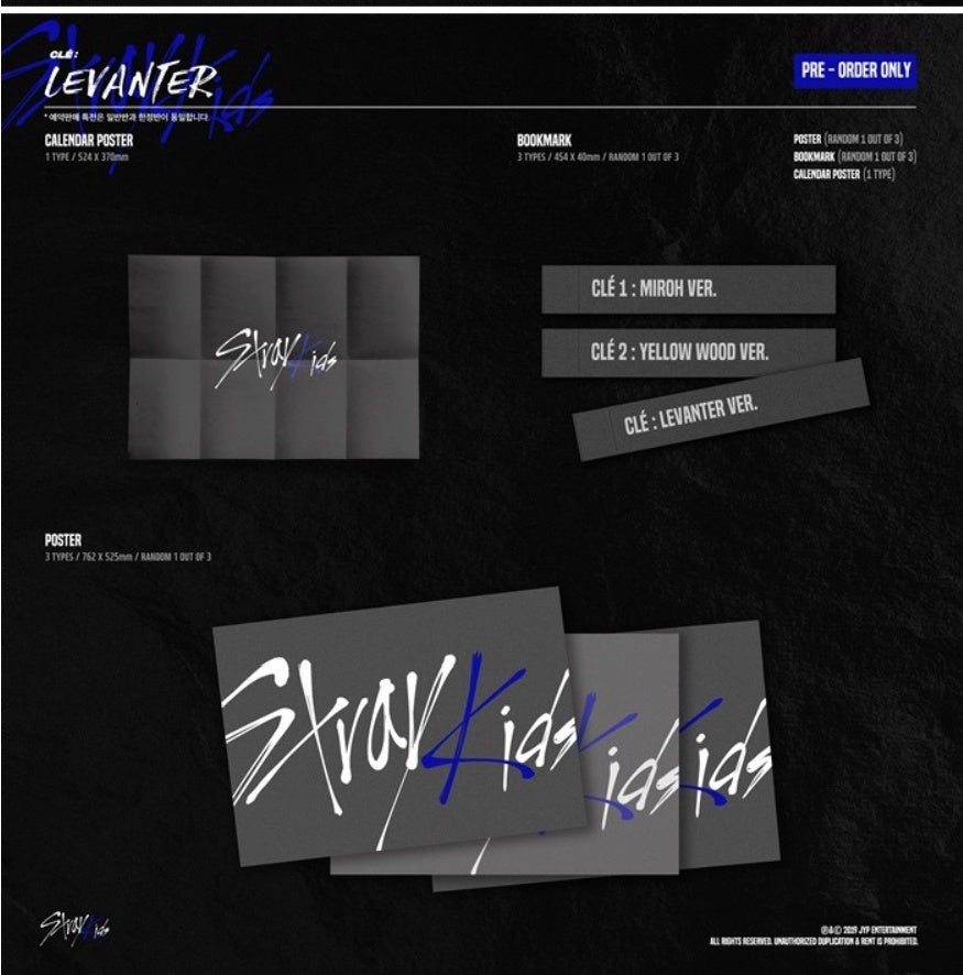 Stray Kids - CLE : LEVANTER (Normal Edition) - J-Store Online