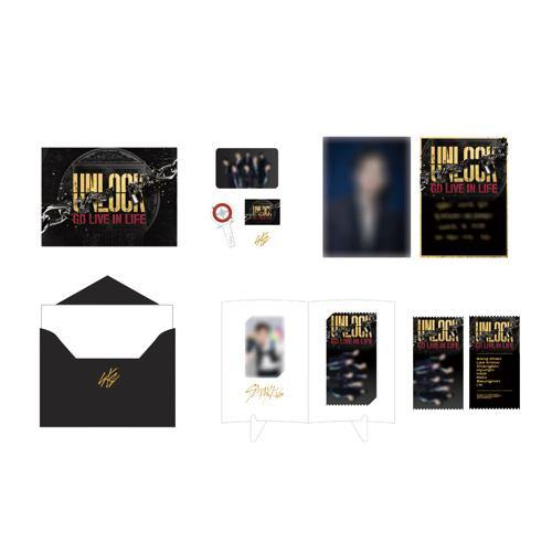 Stray Kids  - Unlock: Go Live In Life - Special AR Ticket Set