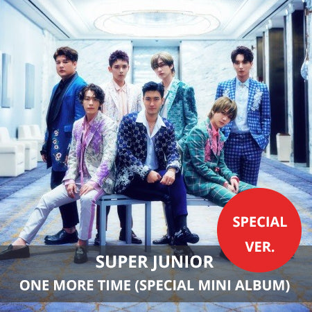 Super Junior - 'One More Time' - Special Version - jetzt lieferbar