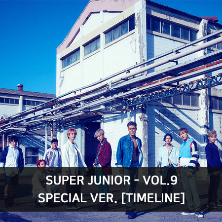Super Junior - 'Time Line' - Special Version - J-Store Online