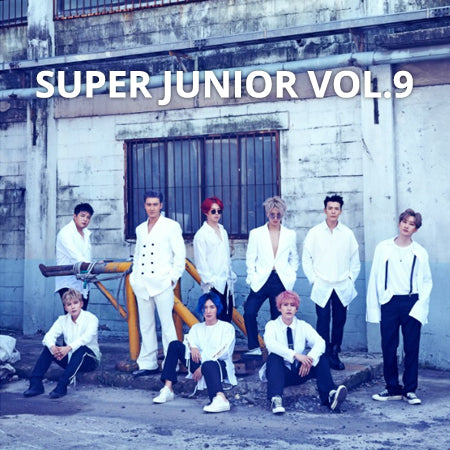 Super Junior - Time Slip (Vol. 9) - Pre-Order