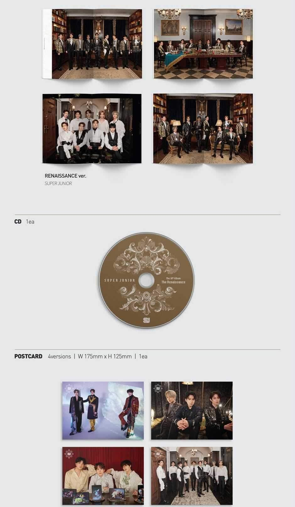 SUPER JUNIOR -  10th Album - The Renaissance - J-Store Online