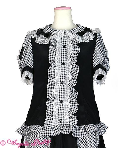 ANGELIC PRETTY - Lovely Check Set ( Rock + Bluse)