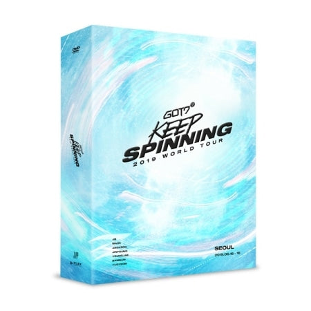 GOT7 - GOT7 2019 World Tour (Keep Spinning) - 3 DVDs - J-Store Online