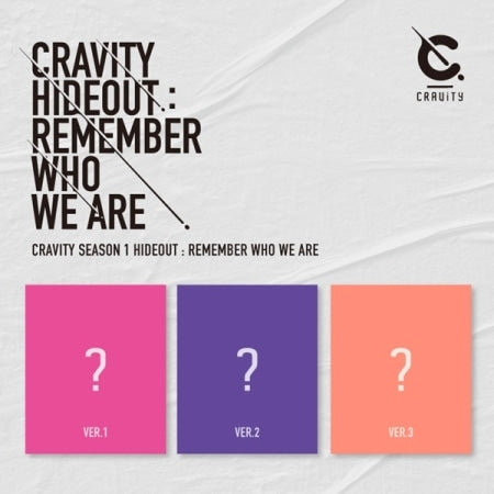 Cravity - Cravity Season 1 Hideout - Remember Who We Are - Pre-Order