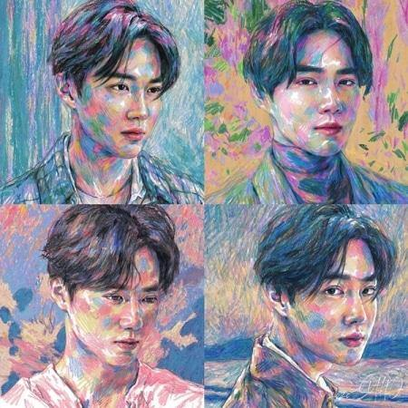 SUHO - Self Portrait - Kit Album