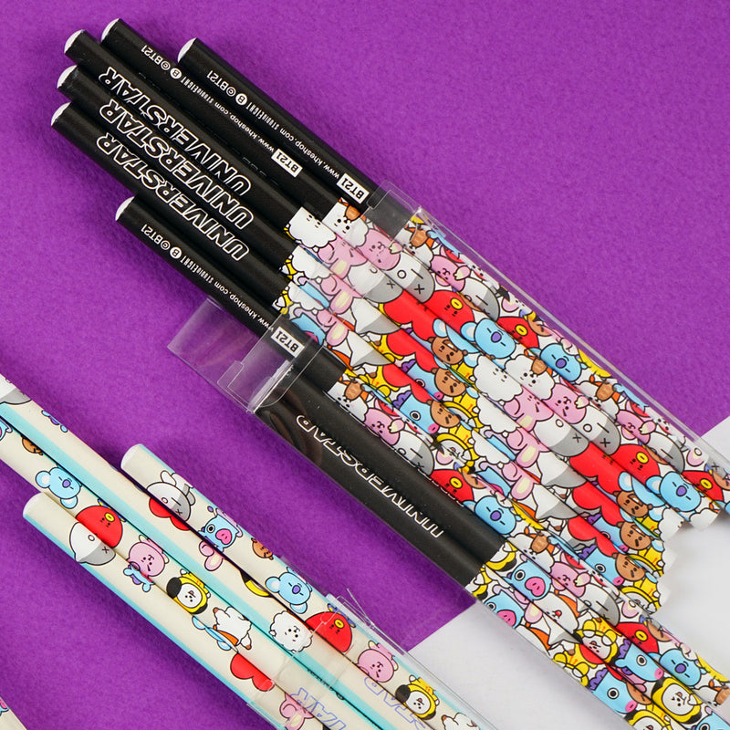BT21 Pencil Set (8 Pieces) - J-Store Online