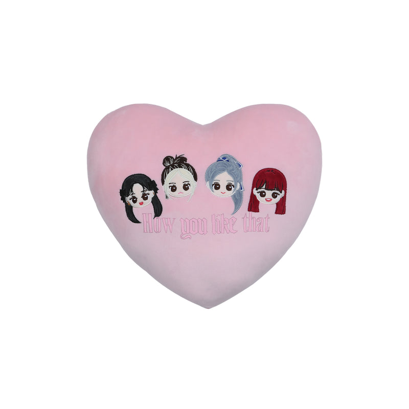 BLACKPINK Character Heart Cushion - How You Like That