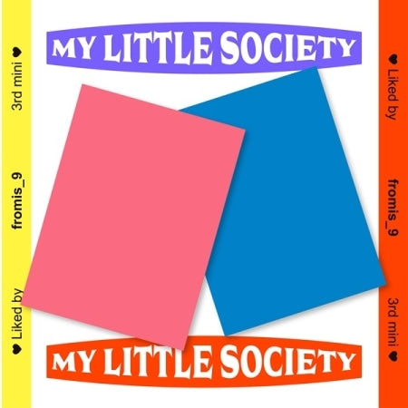 Fromis_9 - My Little Society - Pre-Order