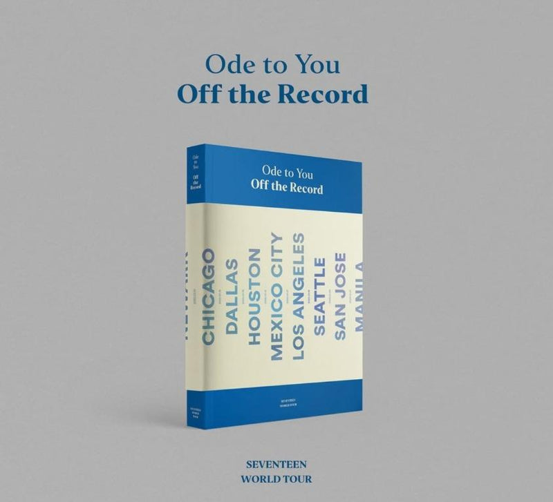 Seventeen - Ode To You, Off The Record (2019 World Tour Photobook)