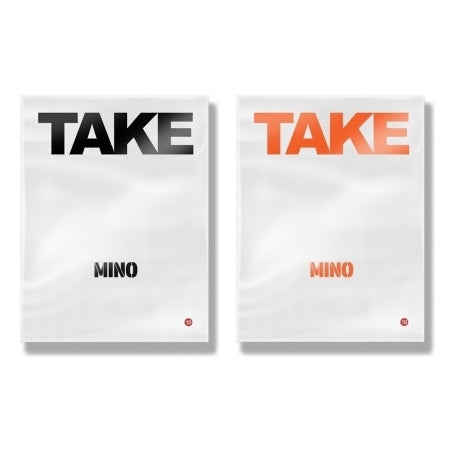 MINO - Take: 2nd Solo Album - Pre-Order