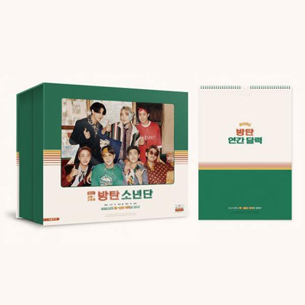 BTS - BTS 2021 Season's Greetings + Wall Calendar