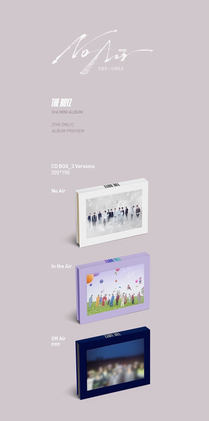 The Boyz - The Only (3rd Mini Album) - Jetzt lieferbar