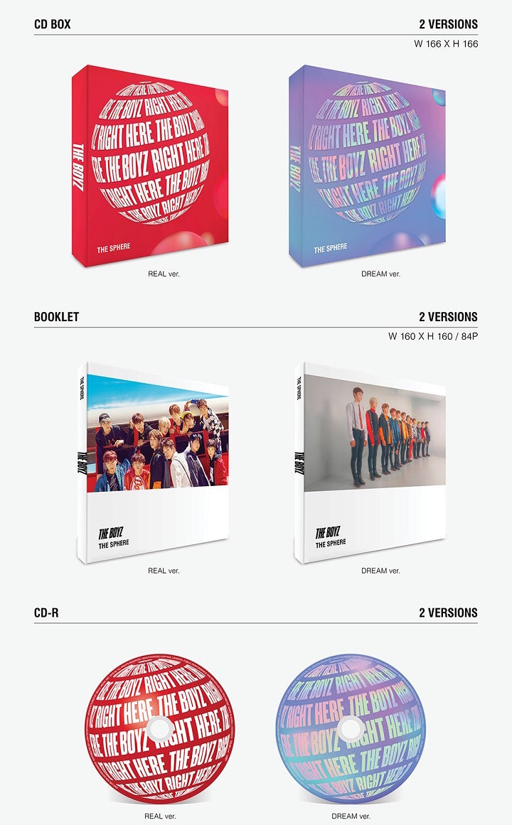 The Boyz - The Sphere (1st Single Album) - J-Store Online