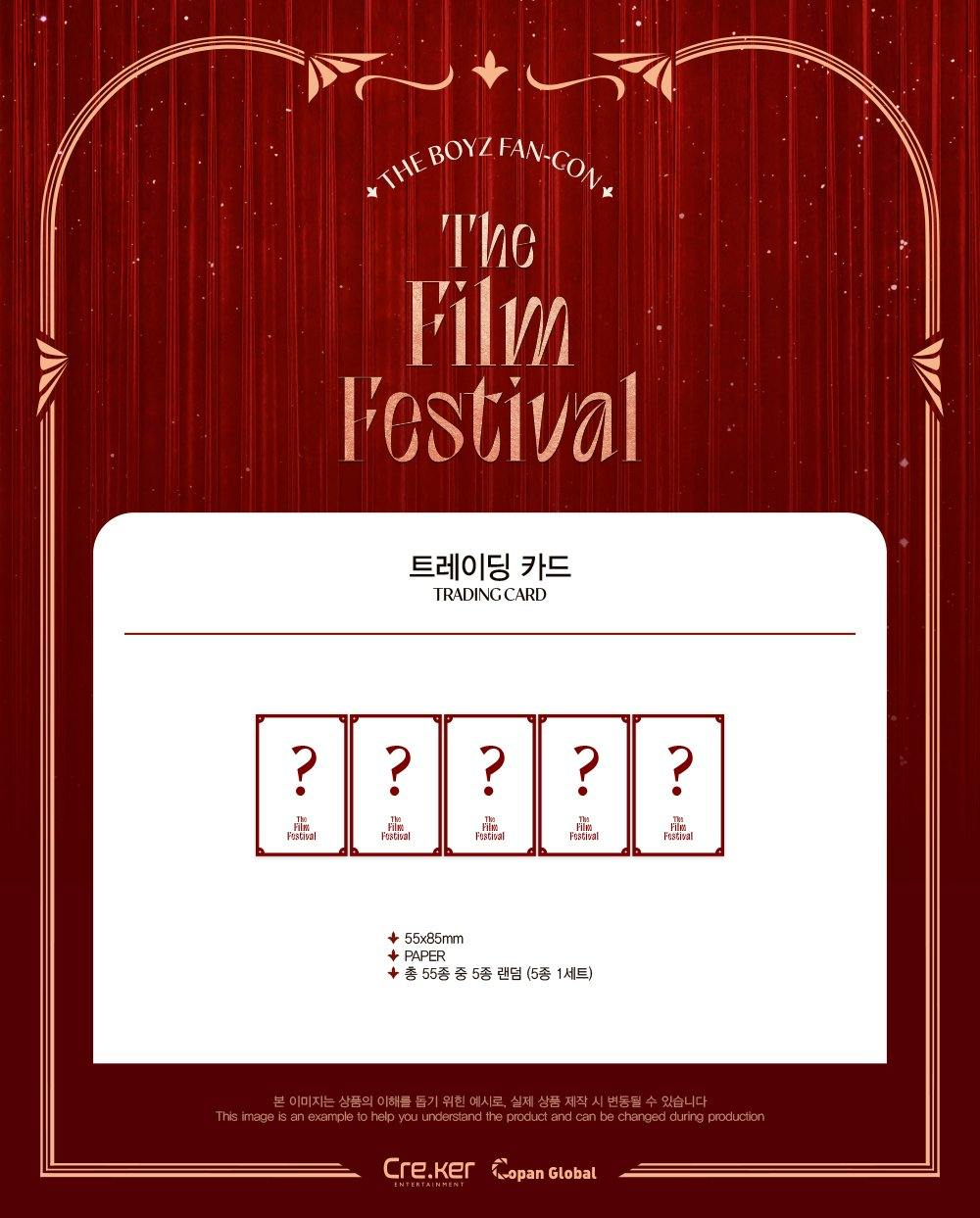 THE BOYZ - Trading Card / THE FILM FESTIVAL MD (5 Karten)