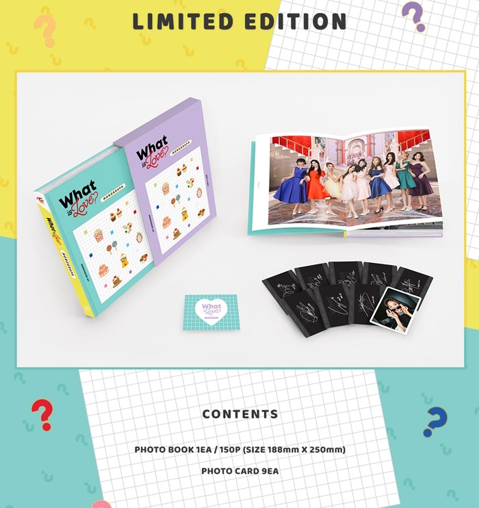 Twice - Twice Monograph (What is Love?) Limited Edition - jetzt lieferbar