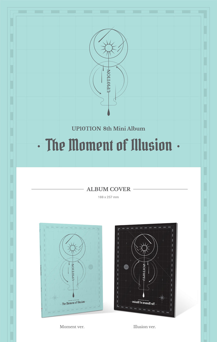 UP10TION - The Moment of Illusion - jetzt lieferbar