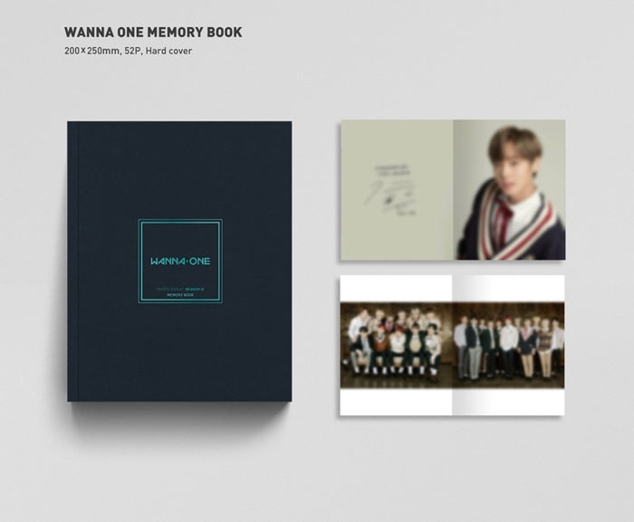 WANNA ONE - Photo Essay Season 2 - Thank You, all the time with You - Pre-Order