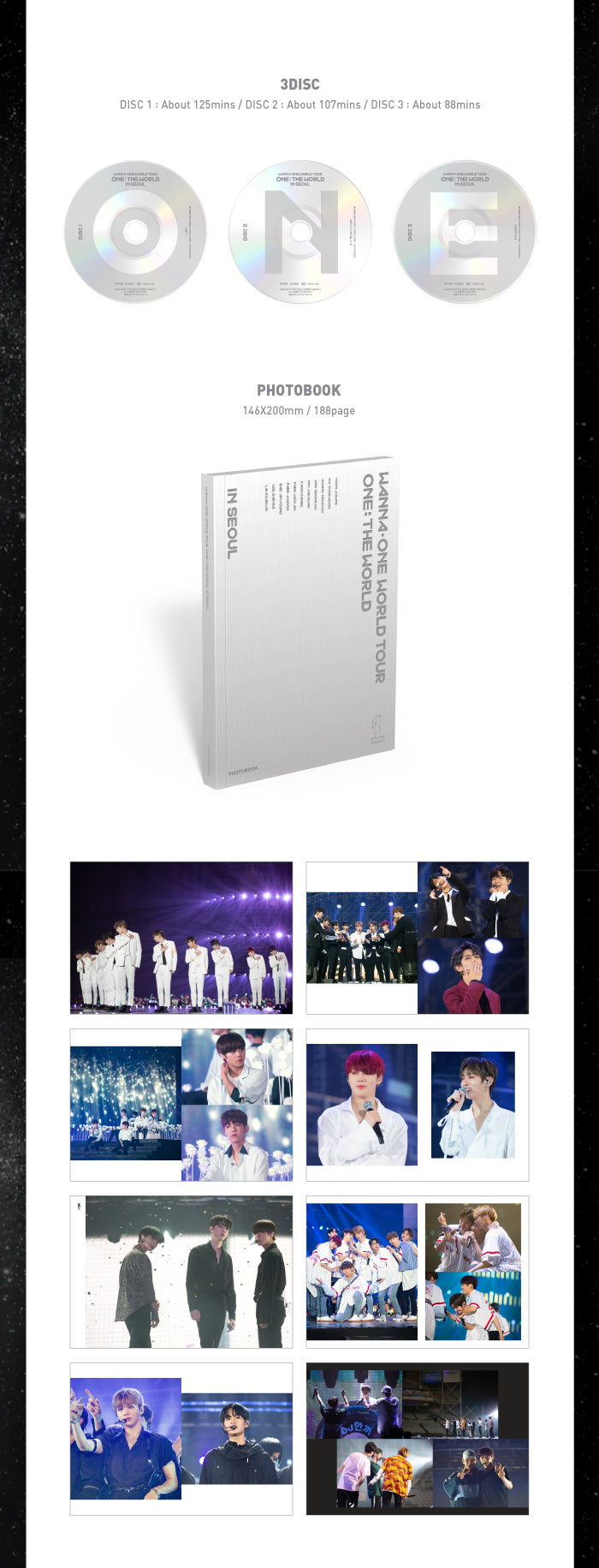 Wanna One - Wanna One World Tour (3DVDs) - jetzt lieferbar